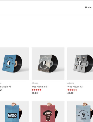 WooCommerce Pages