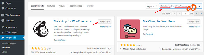 if you want to Integrate MailChimp to WooCommerce