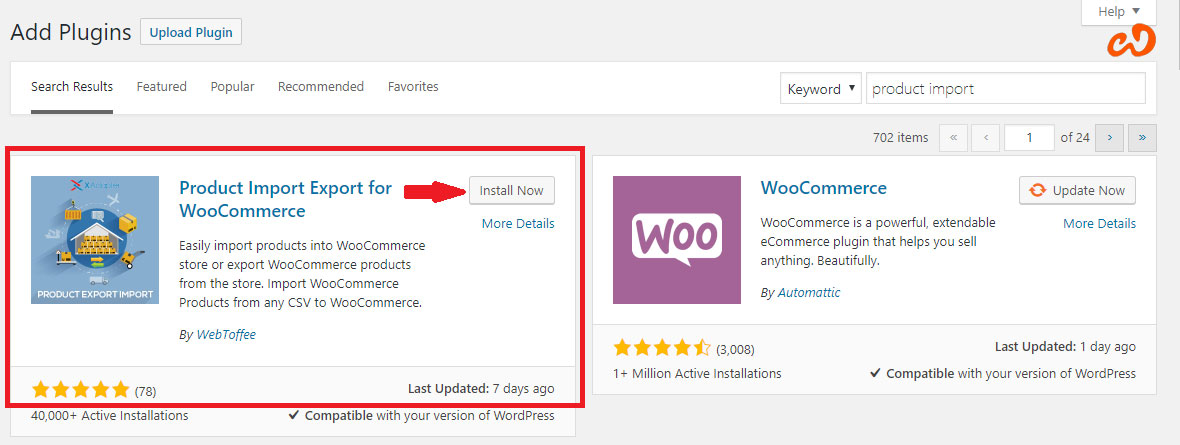 How to Import WooCommerce