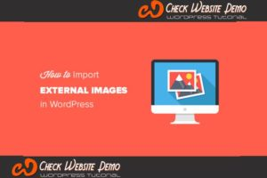 image in wordpress