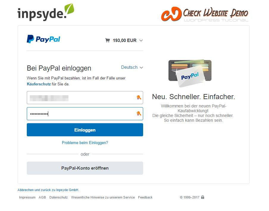 paypal plus integration woocommerce